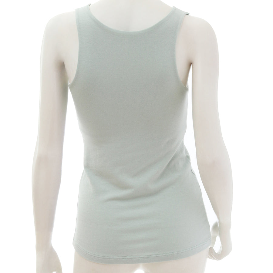 <NEW>Milky Veil Tank Top - Light Green