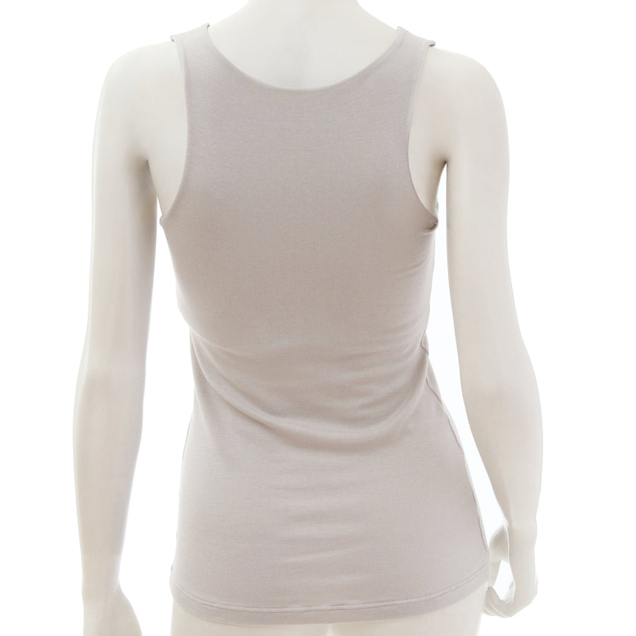 <NEW>Milky Veil Tank Top - Light Gray