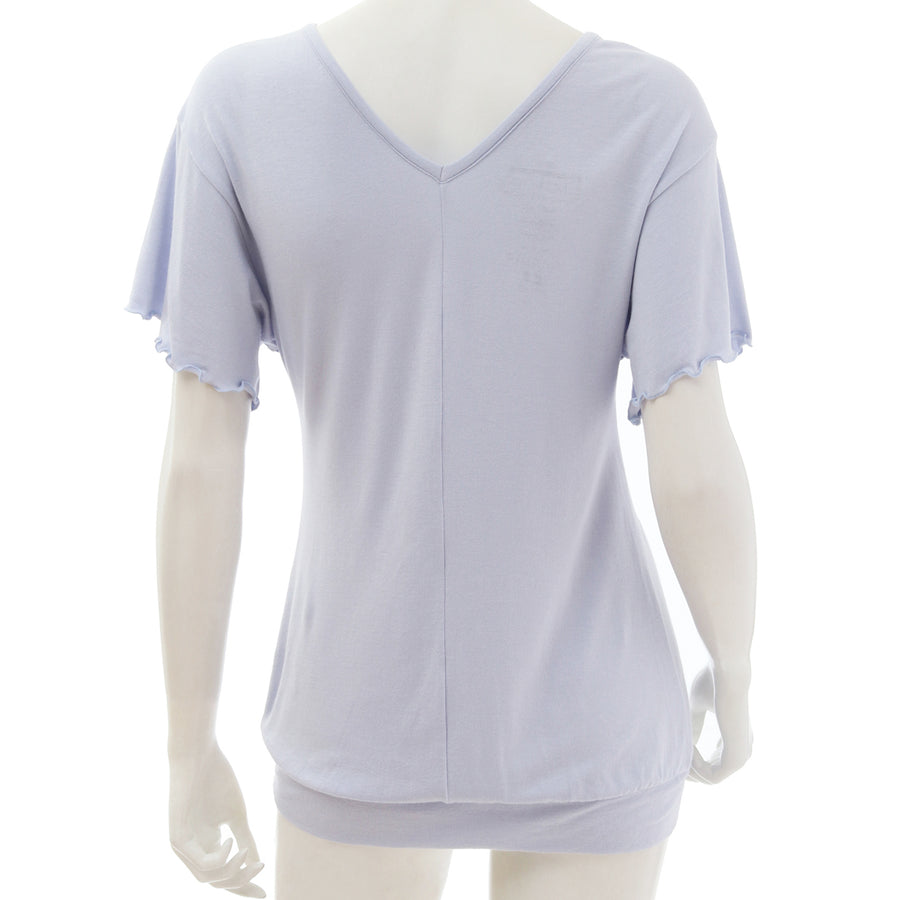 <NEW>Milky Veil Big Sleeve Top - Light Purple