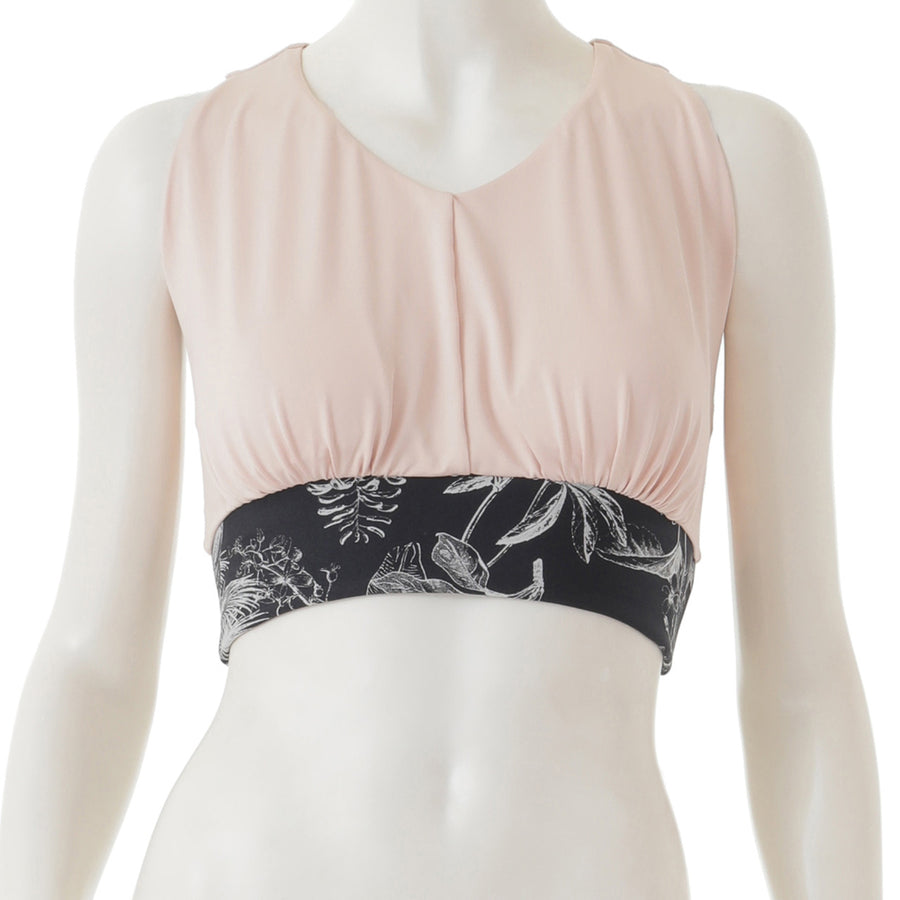 <NEW>High Tension Yoga Bra - Pink Beige