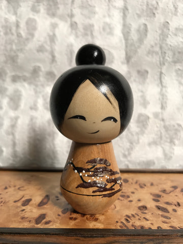 Kokeshi Doll - Branch