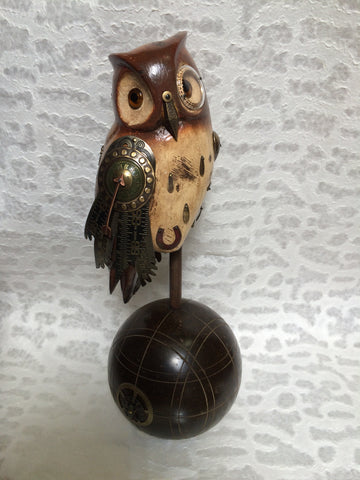 Sculpture - Brown Owl