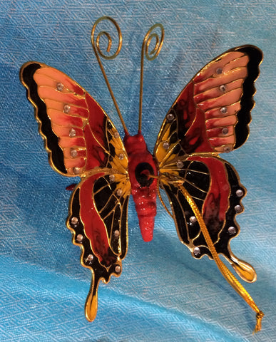 Ornament - Red Butterfly