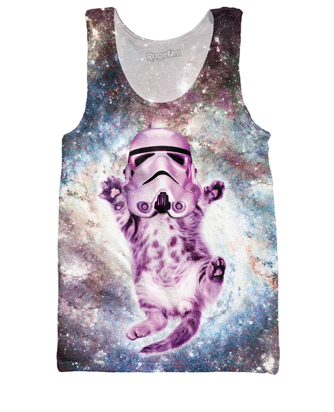 Helmet Cat Tank Top
