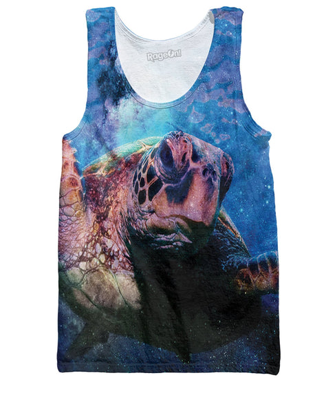Space Turtle Tank Top