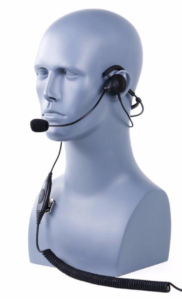 Behind-the-Head Single Muff Headset