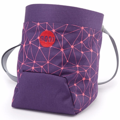Moon Climbing Chalk Bag Purple