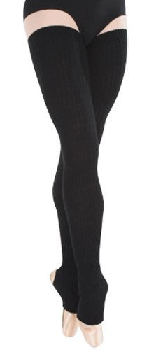"Body Wrappers 48"" Leg Warmers (Black)"