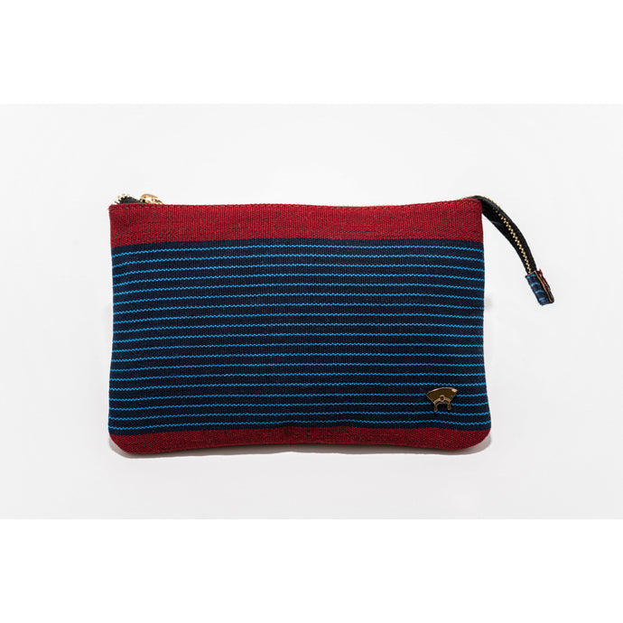 Tilly Pouch - Red/Blue