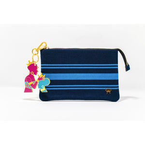 Tilly Pouch - Blue