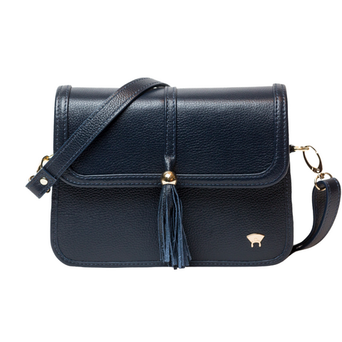 Tola Classic Shoulder Bag - Navy