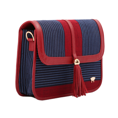 Tola Maiden Shoulder Bag - Red