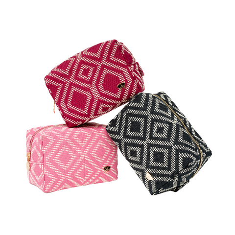 Adunni Makeup Pouch - Pink