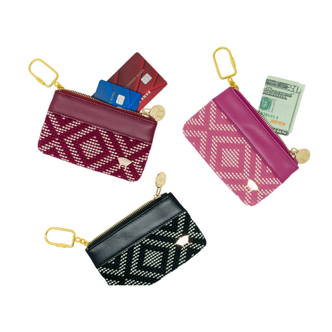 Adunni Mini Pouch - Burgundy
