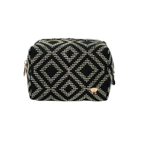 Adunni Makeup Pouch - Black