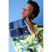 Tola Maiden Shoulder Bag - Navy - Olori