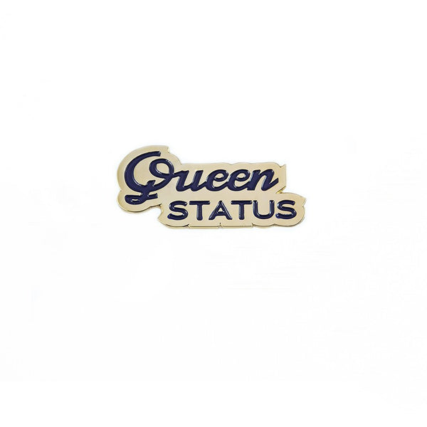 Queen Status Lapel Pin