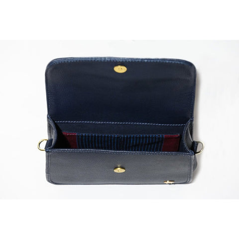 Tola Classic Shoulder Bag - Navy - Olori