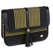 Tola Maiden Shoulder Bag - Black - Olori
