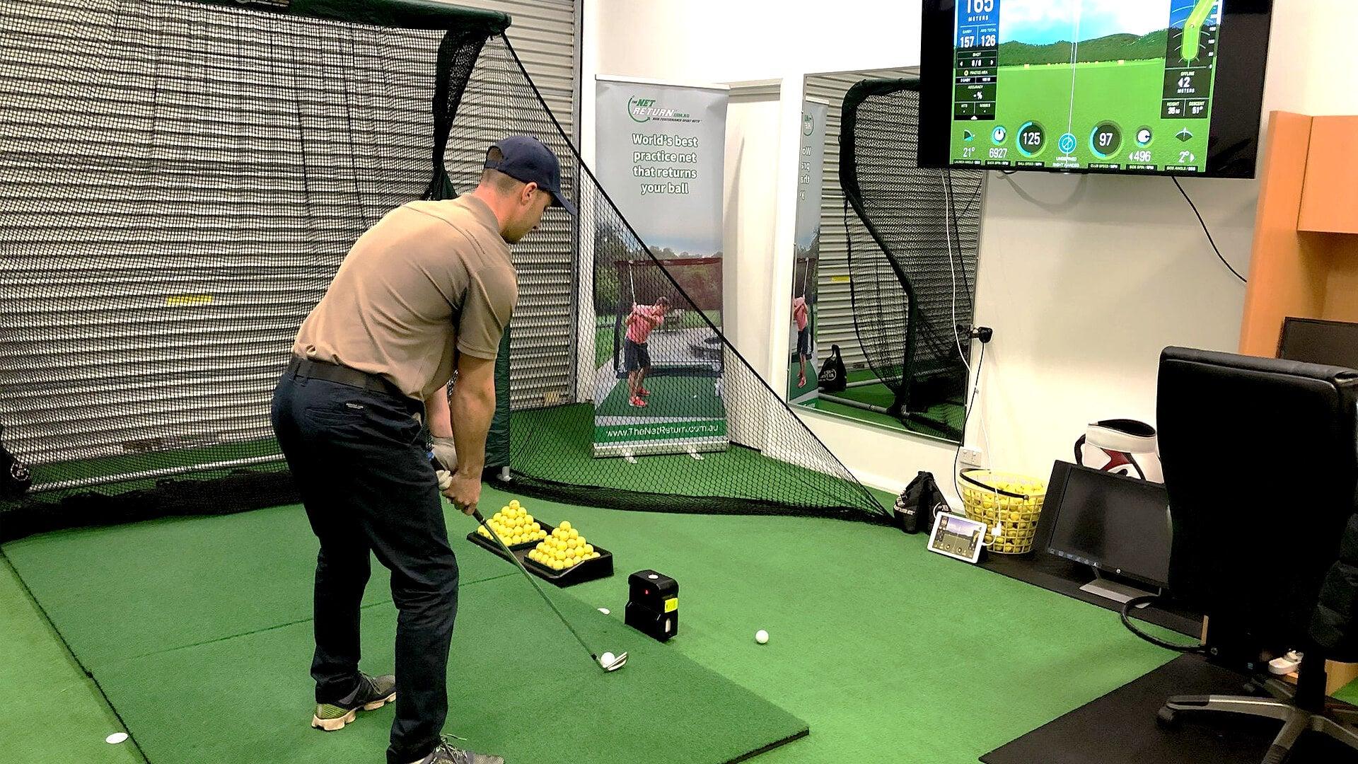 Golf Practice Nets | Improve Your Swing With TheNetReturn Golf Net