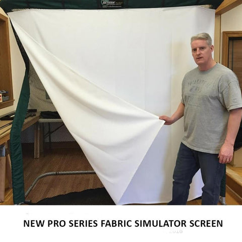 'Pro Series' Simulator Screen - sold out. Pre Order for end of Dec ETA.
