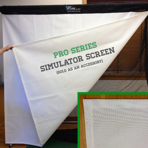 'Pro Series' Simulator Screen