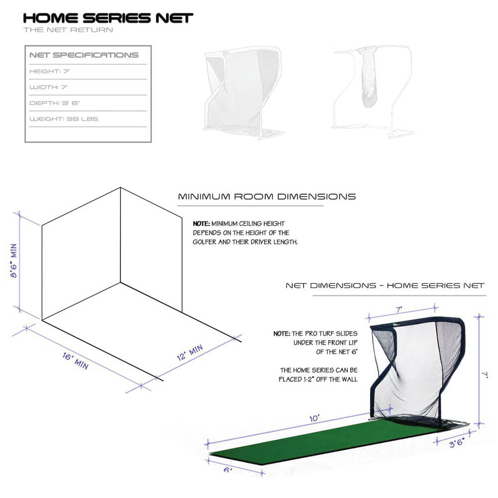 Home Series V2 Golf Package