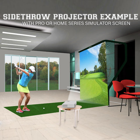 Image of 'Home Series' Golf Simulator Screen