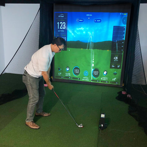 Image of Simulator Series 8 Golf Play and Practice Net