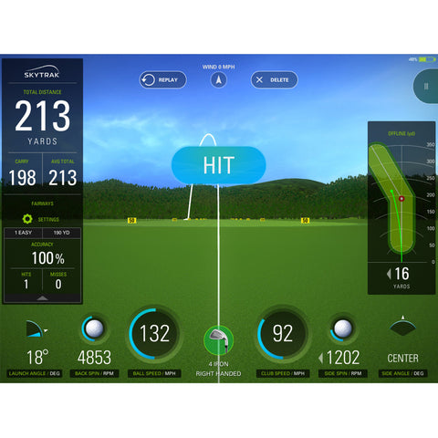 SkyTrak Golf Launch Monitor - Call for Reservation for November ETA delivery
