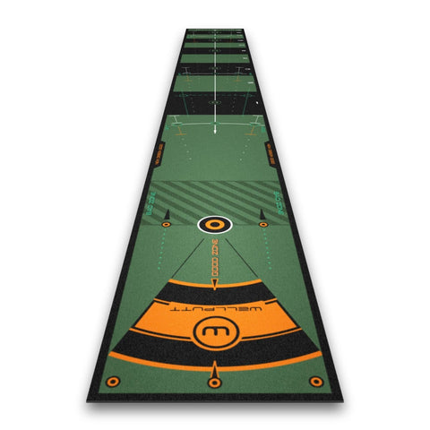 WellPutt 13ft Premium putting training aid-  Back in stock Shipping NOW!