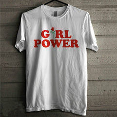 Girl Power Tshirt, Feminism Tee Girl Power Shirt 100% Cotton T-shirt