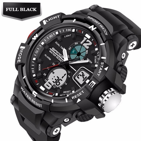 2017 Model G Style Waterproof LED Sports  Watch