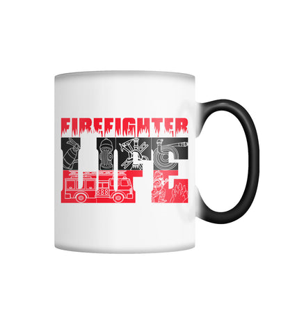 Firefighter Color Changing Mug