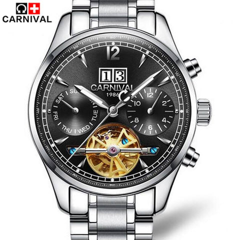Carnival Luxury Brand Tourbillon Mechanical Watches
