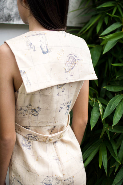Sagittarius Jumpsuit (Papyrus Cream) - Lulu Be Mine