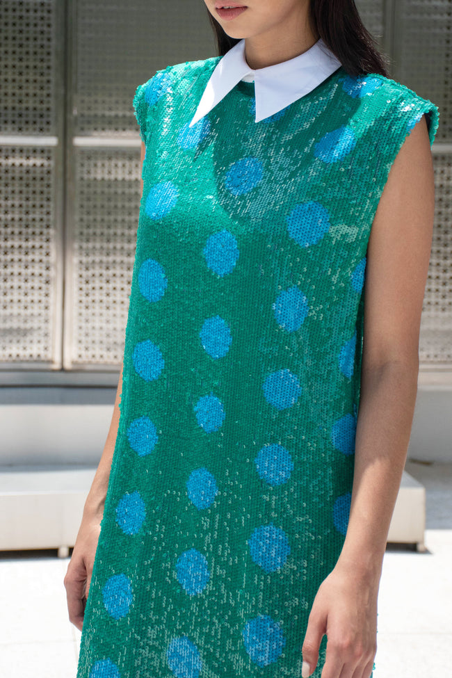 Sleeveless Sequin Tunic - Lulu Be Mine