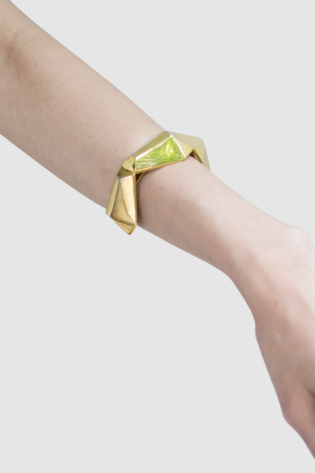 Lagazy Geometric Bangle - Lulu Be Mine