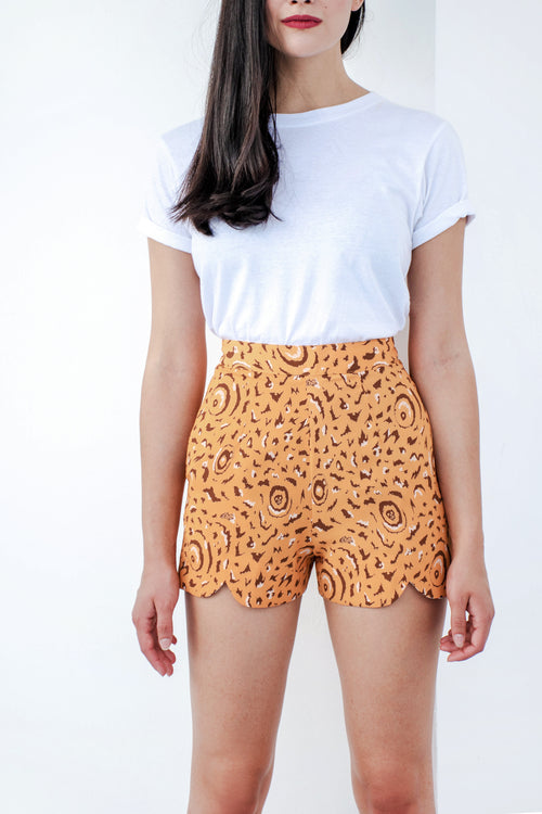 Wing Shorts (Marigold) - Lulu Be Mine