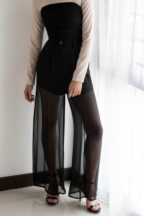 Silk Flare Pants - Lulu Be Mine