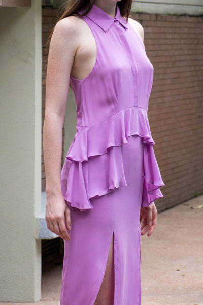 Kaolin Dress (Lilac) - Lulu Be Mine