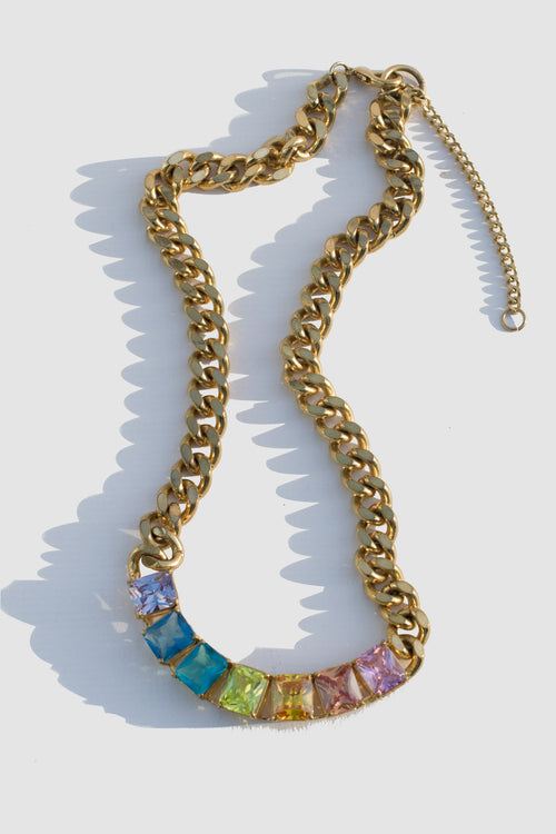 Rain Parade Gems Necklace - Lulu Be Mine