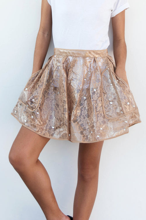 Raindrop Skirt - Lulu Be Mine
