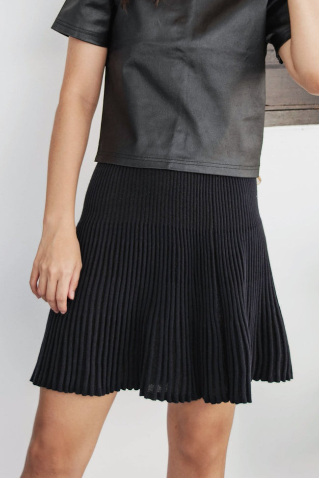 Lurex Knit Skirt - Lulu Be Mine