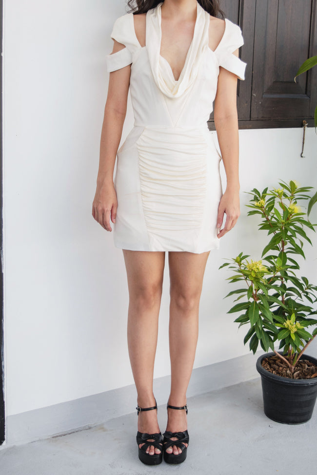 Cowl Neck Dress - Lulu Be Mine
