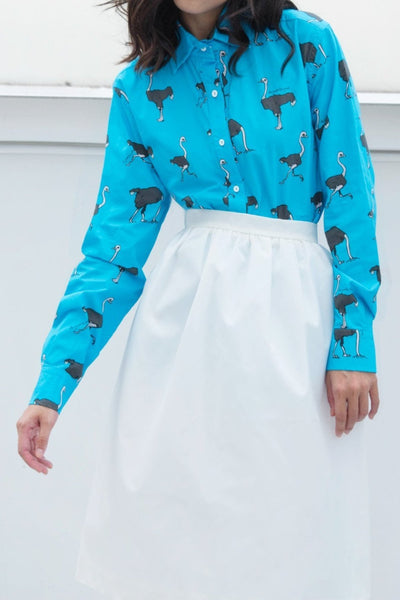 Long Sleeve Shirt (Ostrich) - Lulu Be Mine