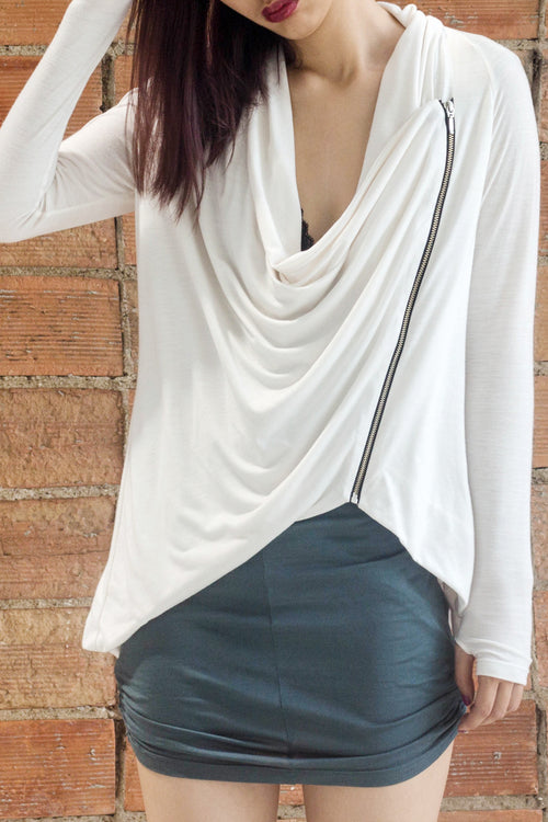 Drape Back Cardigan - Lulu Be Mine