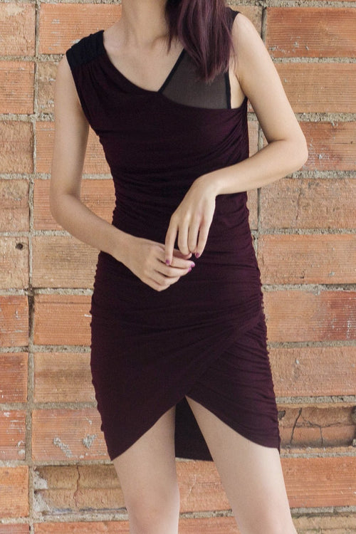 Drape Crusader Dress - Lulu Be Mine