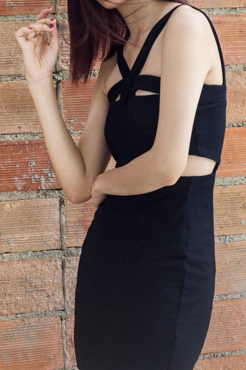 Crossfire Dress - Lulu Be Mine