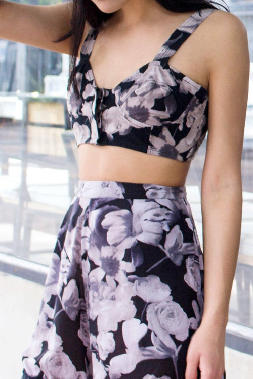 Day Tripper Crop Bustier - Lulu Be Mine